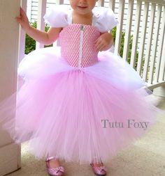 Princess Costume Pink Princess Tutu Dress Cinderella Dress   Etsy Toddler Princess Costume, Princess Tutu, Princess Birthday, Tinker Bell Costume, Cinderella Dresses, Flower Girl Dresses, Tutu Dresses, Ball Gowns, Dress Up