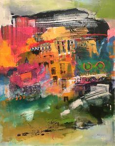 Esti | Untitled | Mixed Media on Canvas | 30x38