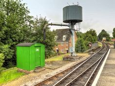 Water Tower, Alton Station, Hampshire (facing west)