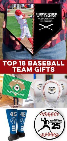 Unique baseball player gifts that you can personalize and more. Rare Baseball Cards, Baseball Coach Gifts, Gifts For Baseball Players, Best Baseball Player, Team Gifts, Baseball Mom, Baseball Clothes, Baseball Stuff, Baseball Field