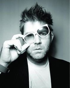 "LCD Soundsystem.  ""Walking up to me expecting words...it happens all the time."""