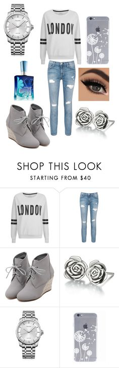 """""""London"""" by fashionkatie ❤ liked on Polyvore featuring ONLY, Current/Elliott, WithChic, Chamilia and Calvin Klein"""