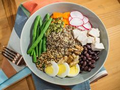 Get Pantry Grain Bowl Recipe from Food Network