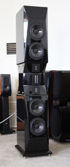 Wizard High-End Audio Blog: Aurum Cantus Genesis loudspeakers