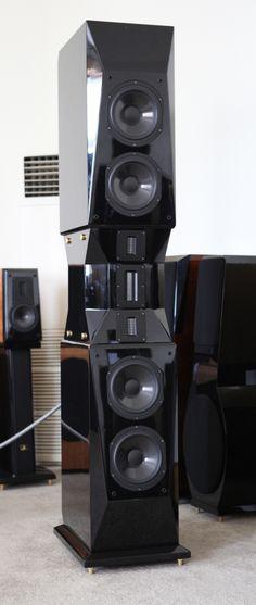 Wizard High-End Audio Blog: Aurum Cantus Genesis loudspeakers