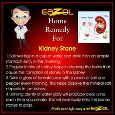 Home Remedy for kidney Stone