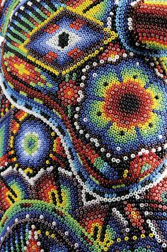 Bead Art Pictures | Huichol Art