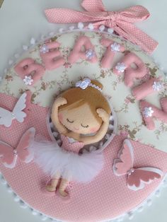 Baby Deco, Baby Mobile, Ballet Dancers, Felt Crafts, Baby Room, Gift Wrapping, Wreaths, Gifts, Handmade