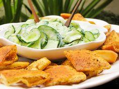 Salada síria de pepino e iogurte
