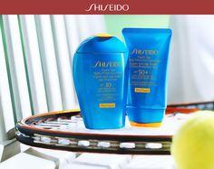 Sole splendente e #solari Shiseido: il team vincente per un'abbronzatura perfetta! #WetForce http://bit.ly/SolariWetForce