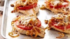 French Onion Chicken #recipes #healthy
