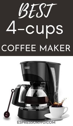 You can save thousands of dollars every year if you make a good investment on an economical coffee maker and of course what's a better luxury than waking up to an amazing cup of coffee on demand.we have undertaken the task to research and prepare the information that will be important to guide you on the best five coffee makers and an answer to some of the common questions about them. Visit our website for more details. #espressorivo #4cupscoffeemakers 4 Cup Coffee Maker, Coffee Cups, Coffee Accessories, How To Make Coffee, Cold Brew, Coffee Recipes, Keurig, Iced Coffee, Brewing