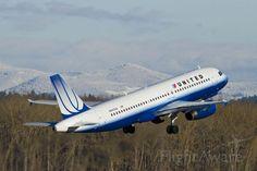 United 572 Departing PDX for Denver