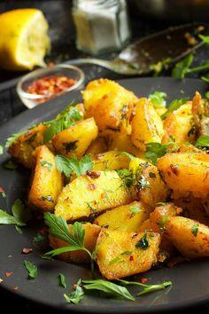 Batata Harra Spicy Roasted Potatoes