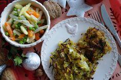 Vánoční salát s jablky...Zelenina je známá svou pestrobarevností a využitím zejména v kuchyni. Samozřejmě, zelenina má mnoho prospěšných minerálních látek, vitamínů, avšak méně cukru a skoro žádné kyseliny. Sprouts, Cabbage, Menu, Vegetables, Food, Menu Board Design, Essen, Cabbages, Vegetable Recipes