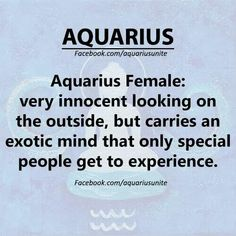 #AquariusForReal♒ #Aquarius ♒                                                                                                                                                                                 More