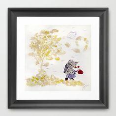 Wind Framed Art Print by Maria Bozina - $34.00