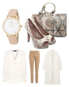 """""""Elegant snake"""" by simikaykay on Polyvore featuring Theory, MANGO, By Malene Birger, Street Level, UGG and Kate Spade"""