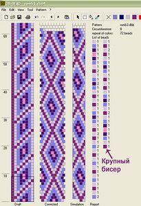 Основы вязания бисерных жгутов крючком - 4