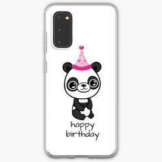 """Happy Birthday Panda"" Case & Skin for Samsung Galaxy by jakezbontar   Redbubble Samsung Cases, Samsung Galaxy, Phone Cases, Galaxies, Panda, Happy Birthday, Happiness, Happy Brithday, Bonheur"