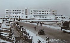 THE ART DECO MIDLAND HOTEL, FROM WINTER GARDENS, MORECAMBE - 1933