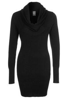 ROB - Strikket kjole - sort