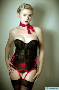 #pinup #garter #belt #posing #Poland #MrPhotographer #woman #blonde