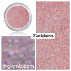 Flashdance Glitter Pigment - Mineral Makeup   Natural Mineral Cosmetics   Vegan + Cruelty Free   ORGLAMIX.COM
