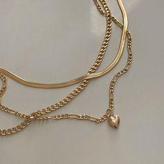Trendy Jewelry, Cute Jewelry, Gold Jewelry, Jewelry Box, Jewelry Accessories, Fashion Jewelry, Gold Necklace, Piercings, Gold Aesthetic