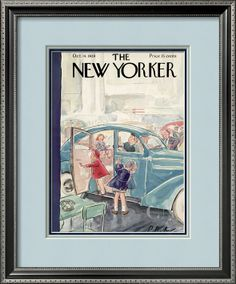 The New Yorker Cover - October 14, 1939 Poster Print by Perry Barlow at the Condé Nast Collection
