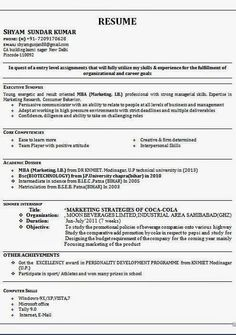 Examples Works Now Example From Areas Participation Resume Hobbies
