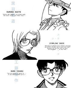 Detective Conan Quotes, Manga Detective Conan, Detective Conan Wallpapers, Conan Movie, Detektif Conan, Conan Comics, Kaito Kid, Magic Kaito, Anime Qoutes