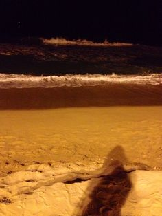 Barna night beach