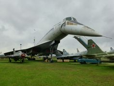 Tupolev 144 @ The Russian Air Force Museum at Monino, Russia. Civil Aviation, Aviation Art, Concorde, Fighter Aircraft, Fighter Jets, Tupolev Tu 144, Back In The Ussr, Russian Air Force, Experimental Aircraft