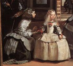 Retratado por Velazquez en Las Meninas.