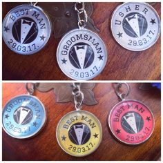 A personal favourite from my Etsy shop https://www.etsy.com/uk/listing/510169934/colourmatch-groomsman-best-man-usher