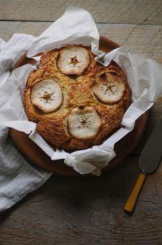 olive oil apple cake