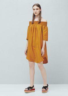 Flowy dress - Dresses for Women   MANGO USA