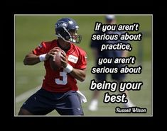 Nfl Quotes, Athlete Quotes, Football Quotes, Football Gift, Football Motivation, Sport Motivation, Wilson Seahawks, Seattle Seahawks, Seahawks Football