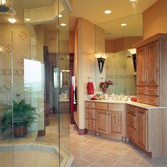Spectacular Vanity & Large Walk-in Shower - Plan 065S-0036 | houseplansandmore.com