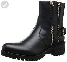 Dune London Women's Pinder Boot, Black Leather, 8 M US - All about women (*Amazon Partner-Link)