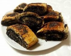 Sweet Desserts, Sweet Recipes, Strudel Recipes, Cookie Recipes, Dessert Recipes, Salty Snacks, Hungarian Recipes, Bread And Pastries, Baking And Pastry