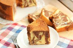 巧克力乳酪大理石戚風蛋糕食譜、作法 | *:.。廚房一隻柴。.:* 的多多開伙食譜分享