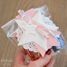 Stampin' Dolce: 12 days of Christmas - Day 1 - Simple Treat Bags!