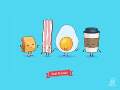 Have a good weekend ) I am pleased to introduce my new set of vector characters for you! Vector EPS files  Buy on CM  Follow me: CreativeMarket | Videohive |  Behance | Vimeo