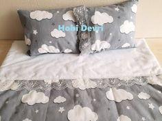 DIY,Baby Blanket,Pillow and Easy Pillowcase, Bebek Pikesi,Yastığı ve Pratik Yastık Kılıfı Dikimi - YouTube