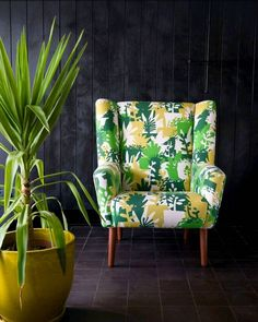 Have you visited the newly supersized Skinny laMinx shop at 201 Bree st? We're open from daily. Storybook Cottage, Wingback Chair, Accent Chairs, Skinny, Fabric, Pattern, Shopping, Furniture, Design