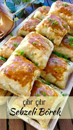 borek How to Make Crispy Crispy Pie Recipe with Vegetables? Turkish Recipes, Ethnic Recipes, Tandoori Masala, Zucchini Fries, Orange Recipes, Fritters, Vegetable Recipes, Cake Recipes, Pastry Recipes
