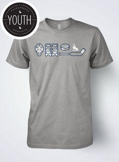 Youth Hockey T-shirt GOALIE GEAR by Scrappers Hockey
