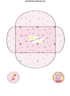 busta inviti rosa peppa pig.  So much Peppa's crafts and activities on this page...love it!